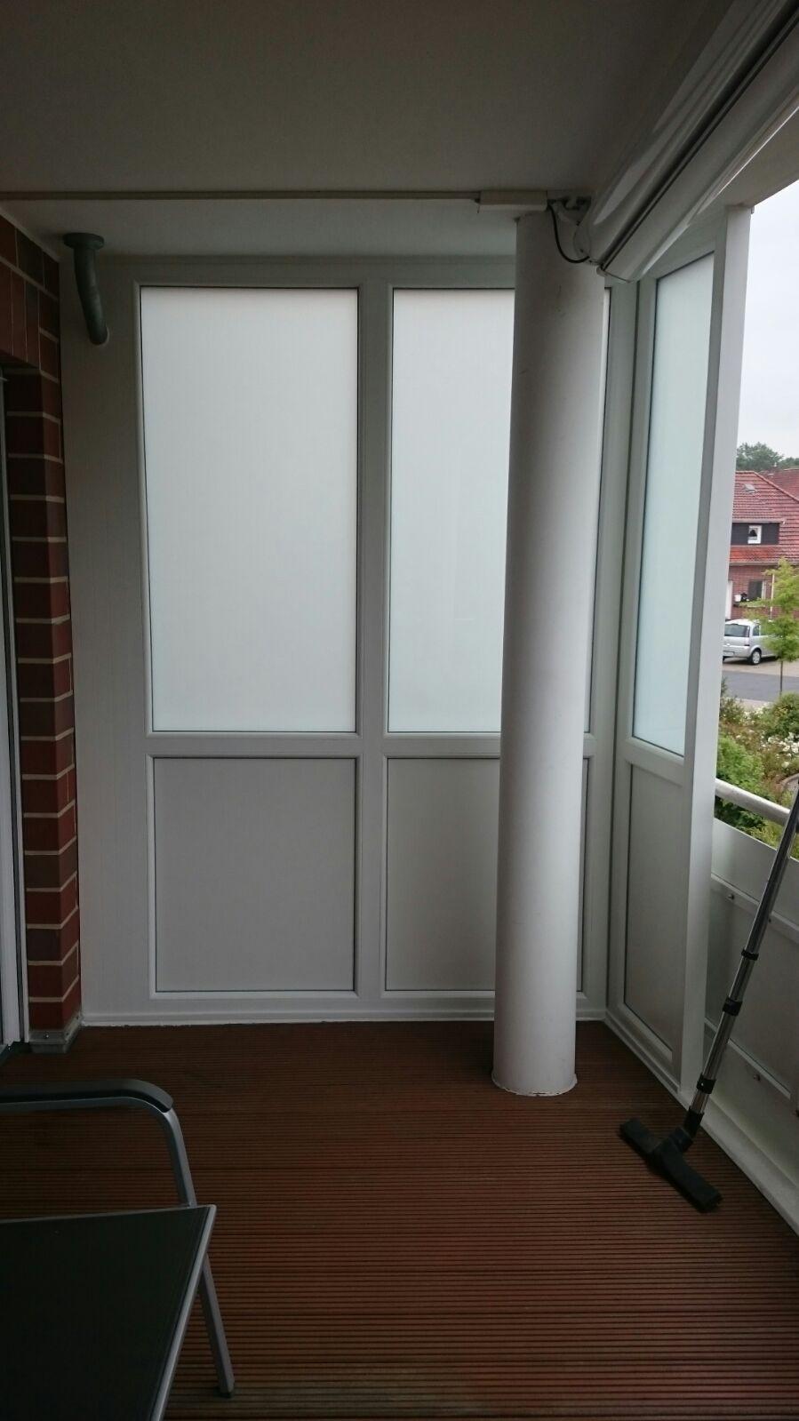 Windfang Auf Einem Balkon Tischlerei Albers