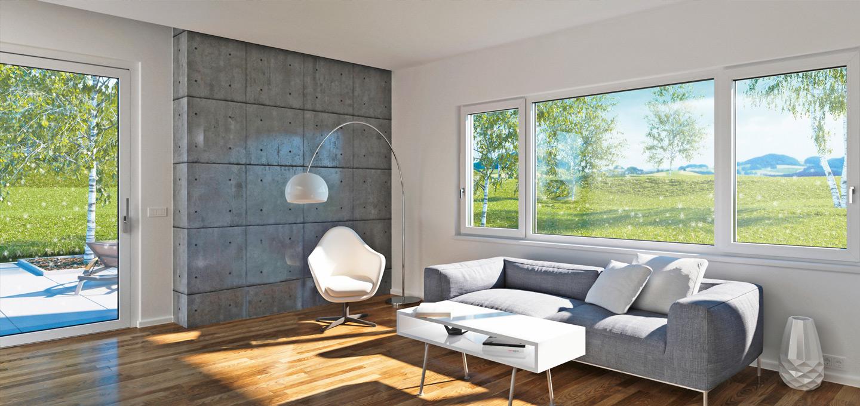 Kunststoff- und Holz-Aluminium- Fenster von Internorm