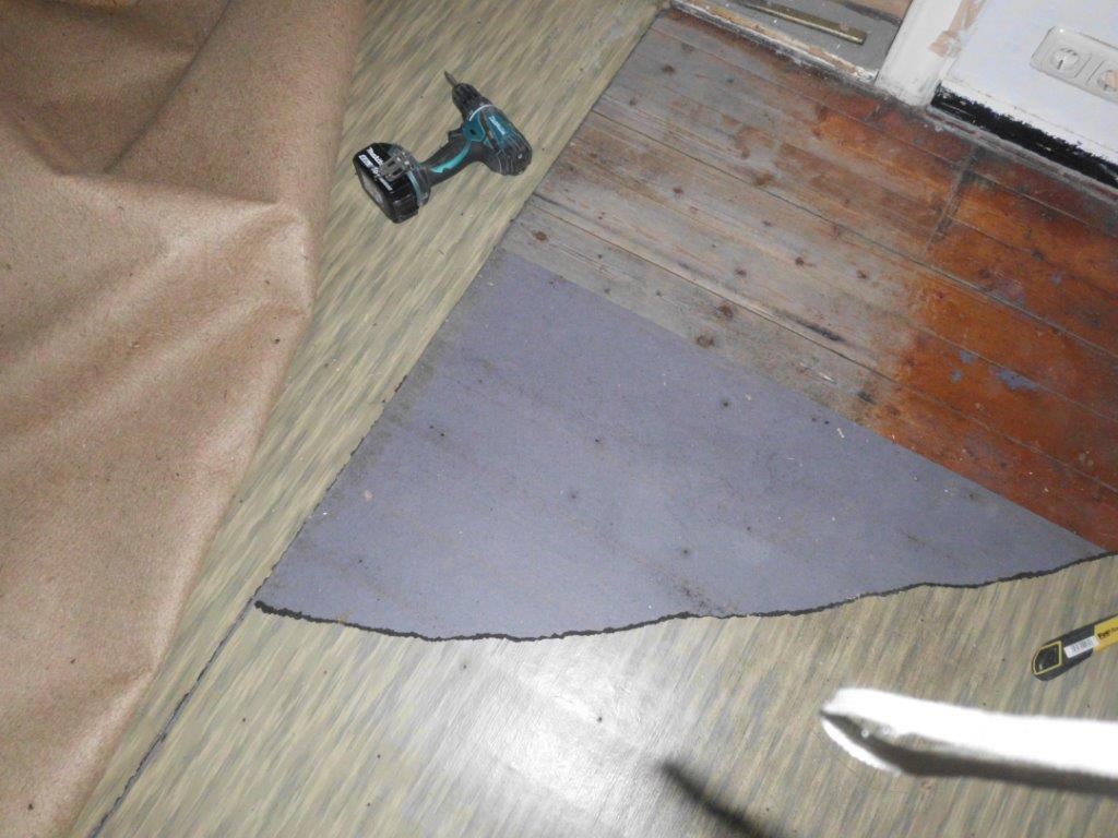 Fußboden gefunden !