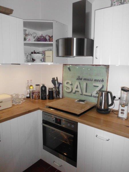 Küche mit IKEA Fronten