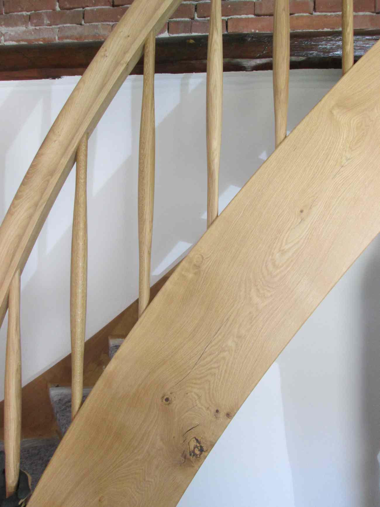 Die Treppe mit dem Knick !