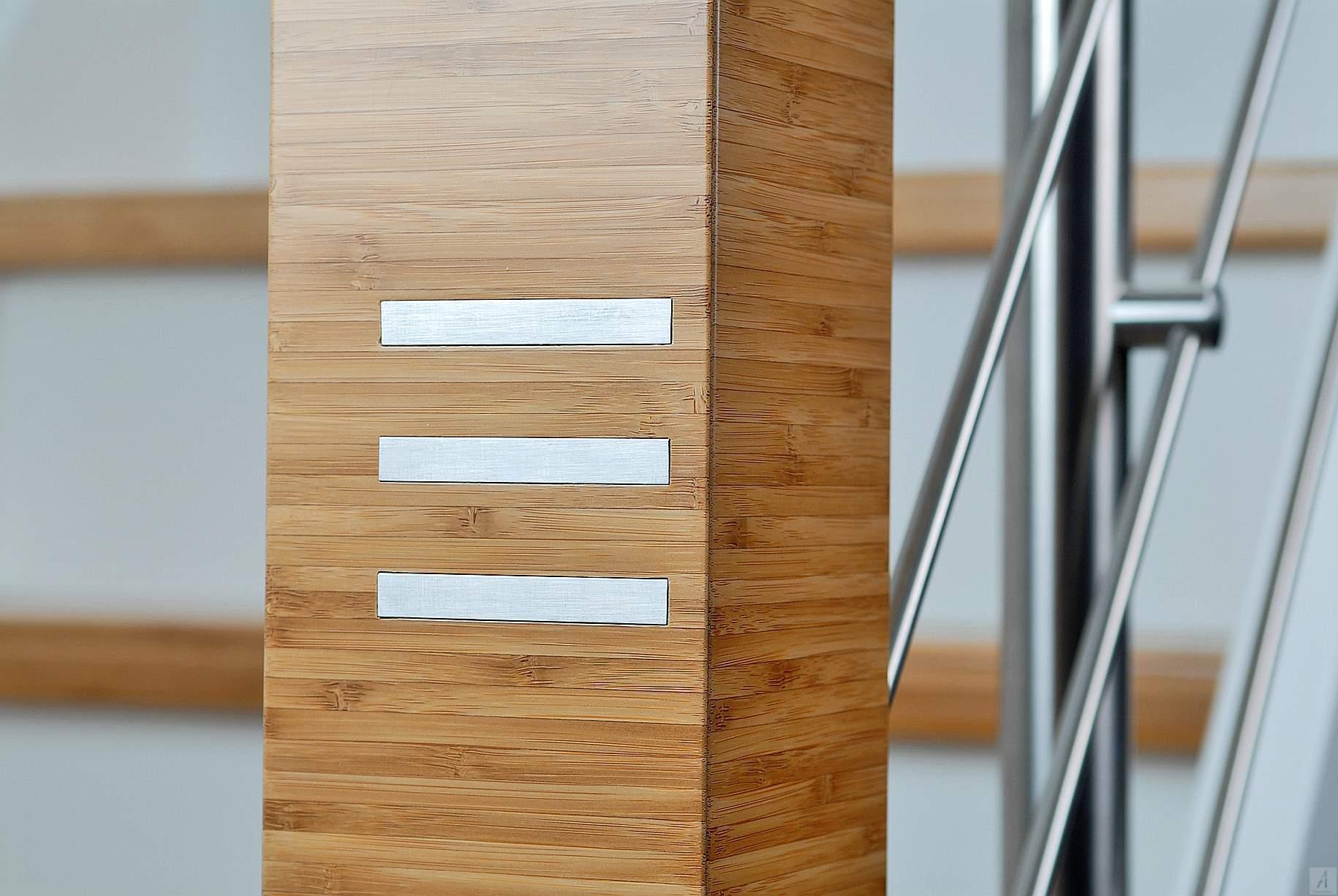 Treppentraum inkl.  Bambus-Treppenstufen