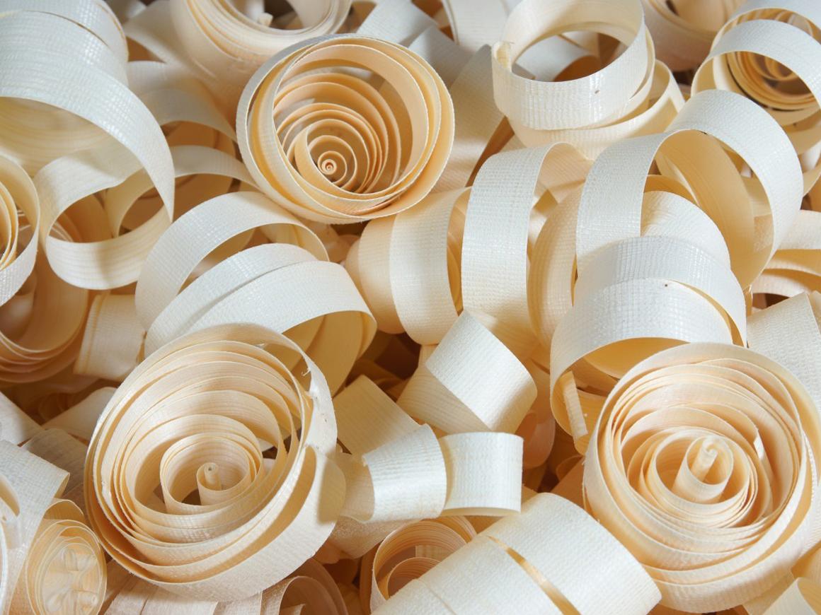 Holzlocken für Hölzerne Hochzeiten (5. bzw. 10. Hochzeitstag)