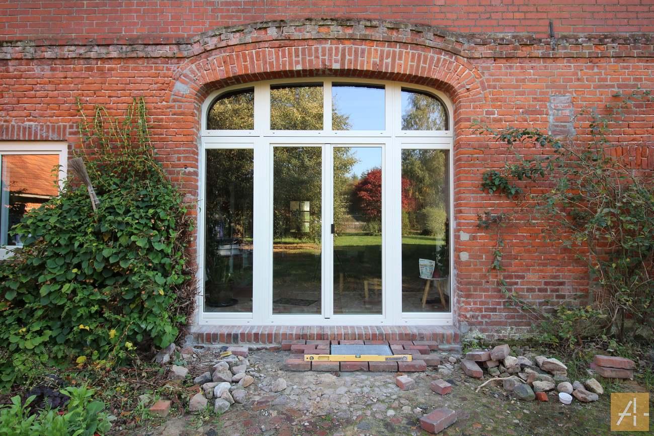 Neue Haustür und Fenster von Internorm