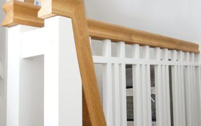 Der Austausch zweier Treppenanlagen