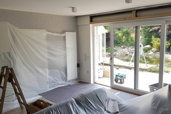 Tischlerei Albers Bruchhausen Vilsen, Fenster Einbau Ablauf