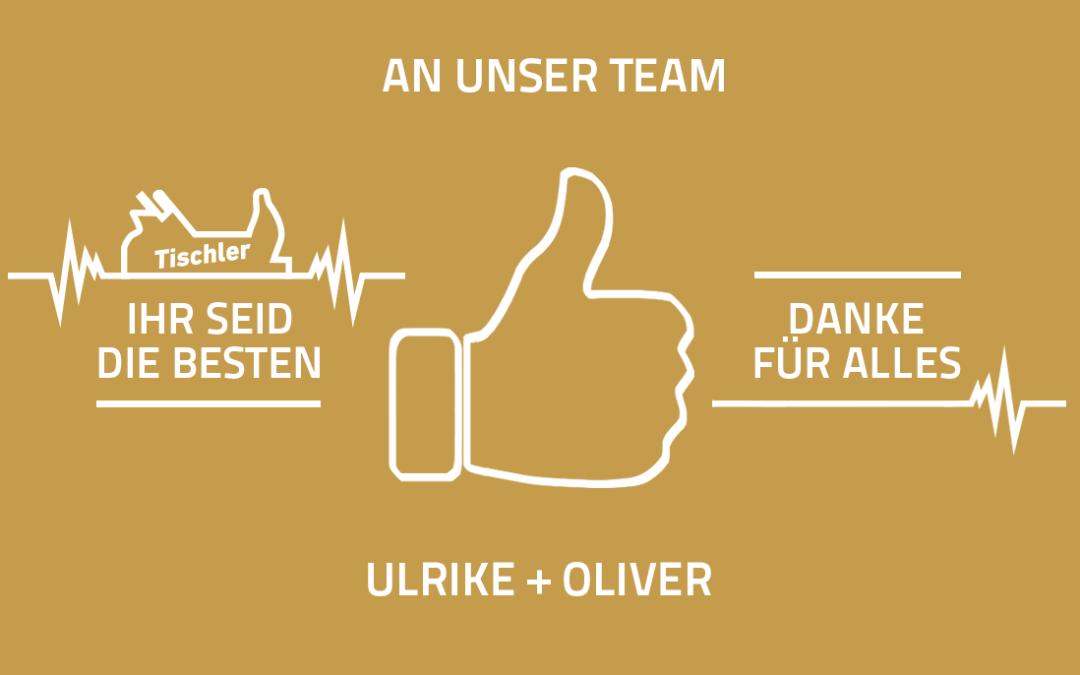 Danke an das Team Albers