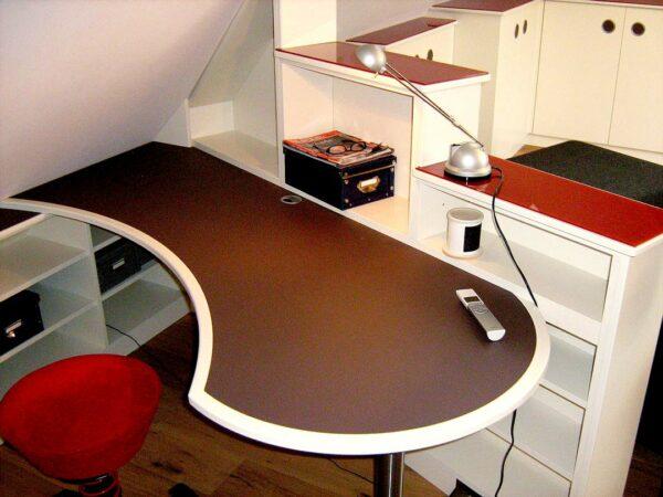 Maßgefertiger Schreibtisch fürs Homeoffice Tischlerei Albers Bruchhausen Vilsen